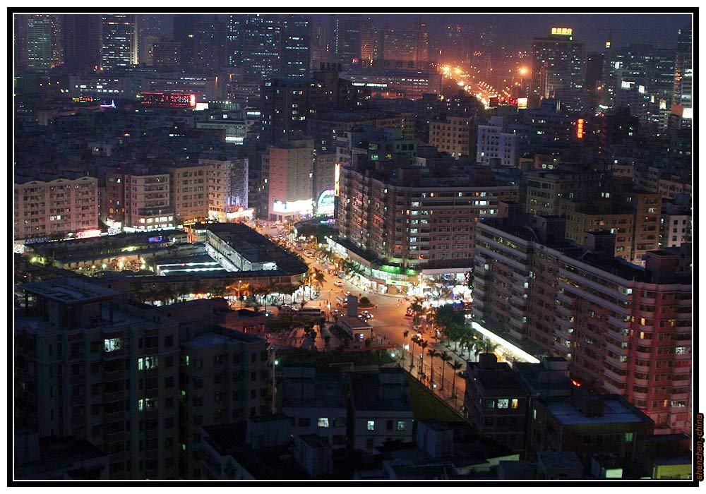 China - Shenzhen, Nightview