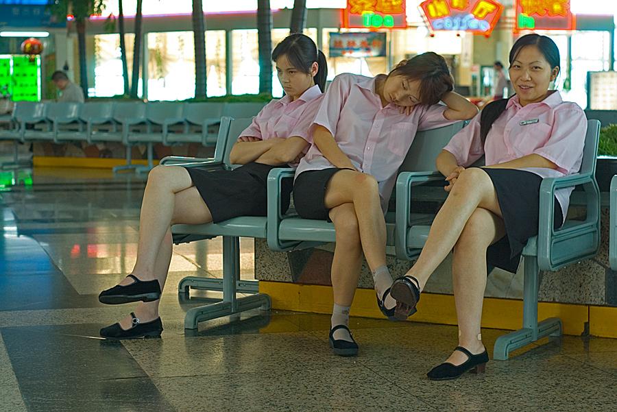 China sleeping #4