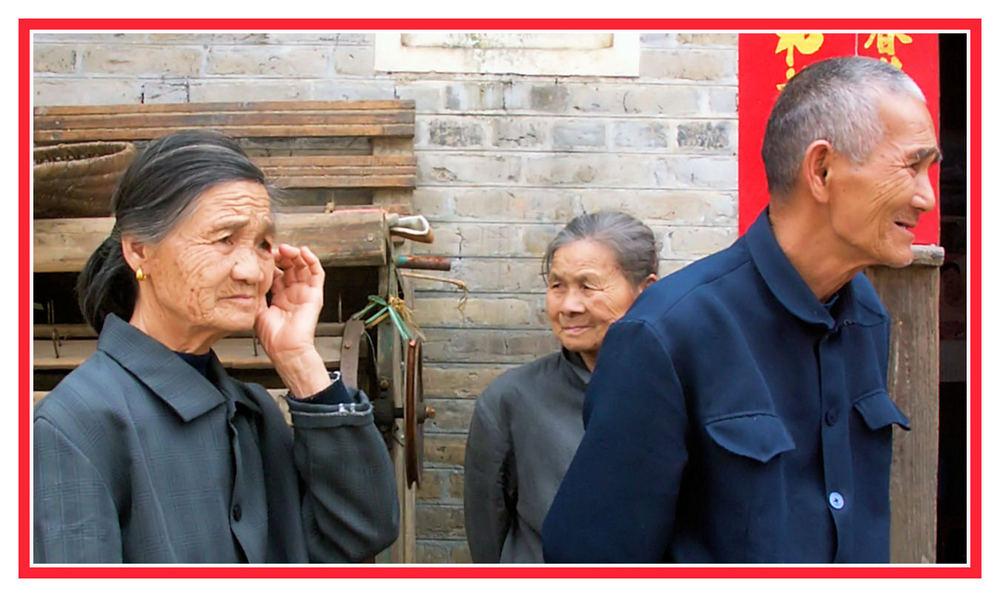 China XXIX: Familie in der Region Guilin