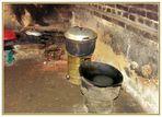 China XXVIII: Einblick in die Küche einer Familie auf dem Land in der Region Guilin