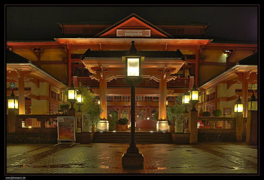 Chinarestaurant pagoda