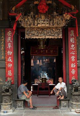 Chineese Pagoda in Cholon