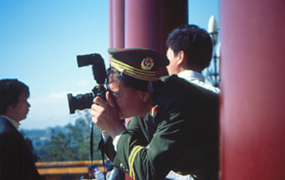 Chinese Army Photographer