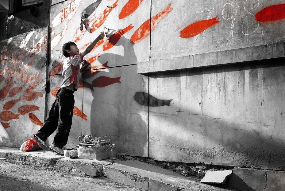 Chinese Grafitti