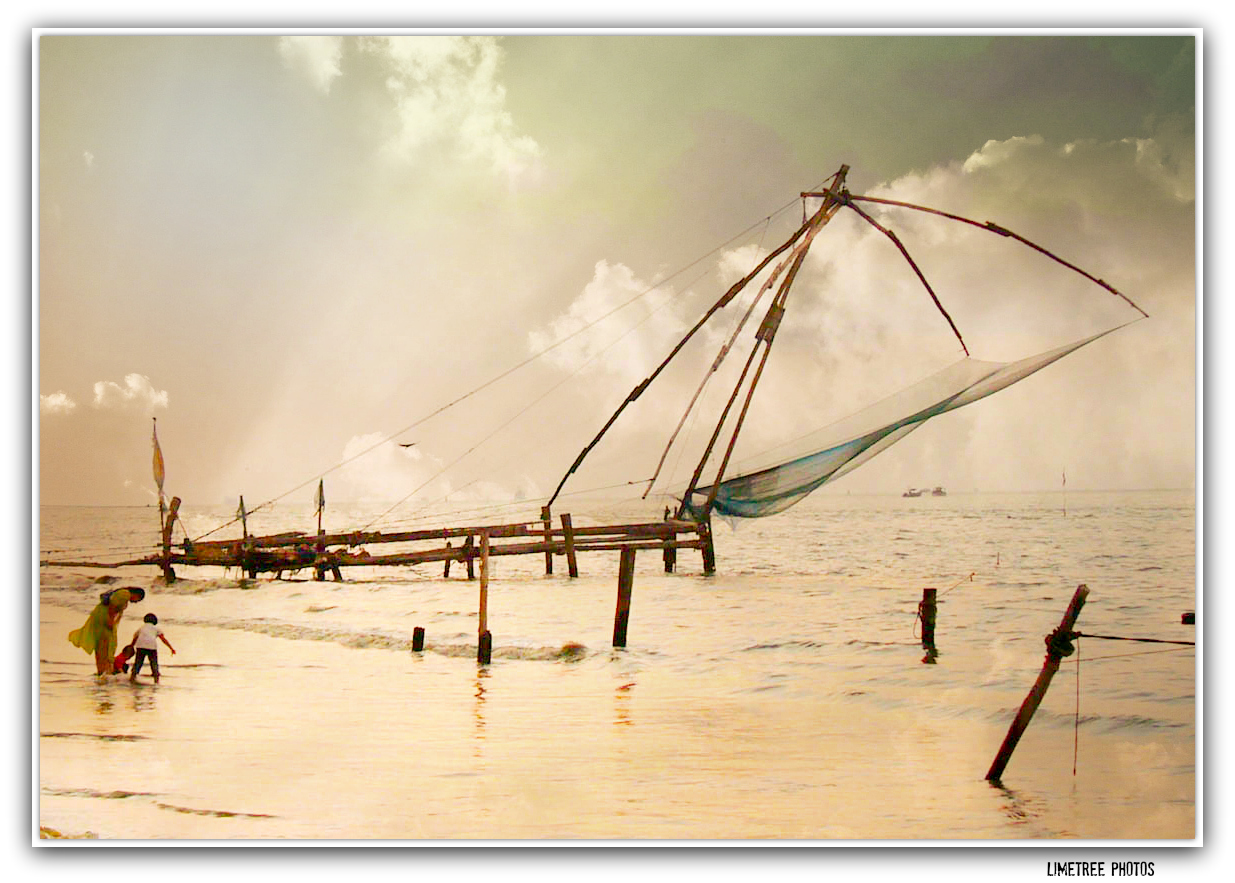 Chinese Nets in Fort Cochin