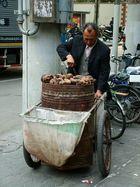 Chinese street trader