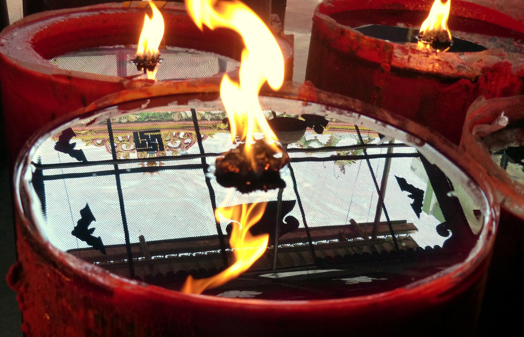Chinese Temple - Reflexionen