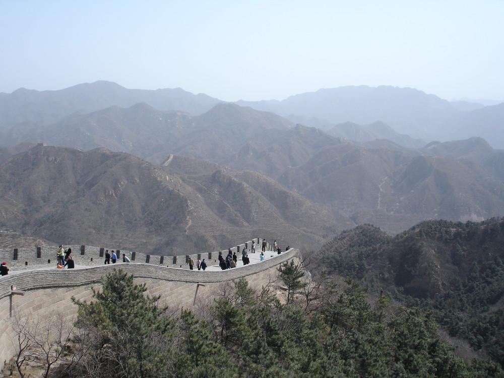 Chinesiche Mauer bei Badaling (Peking)