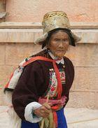 Chinesin aus Shangri La
