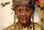Chinesische Braut beim Festival der Kulturen