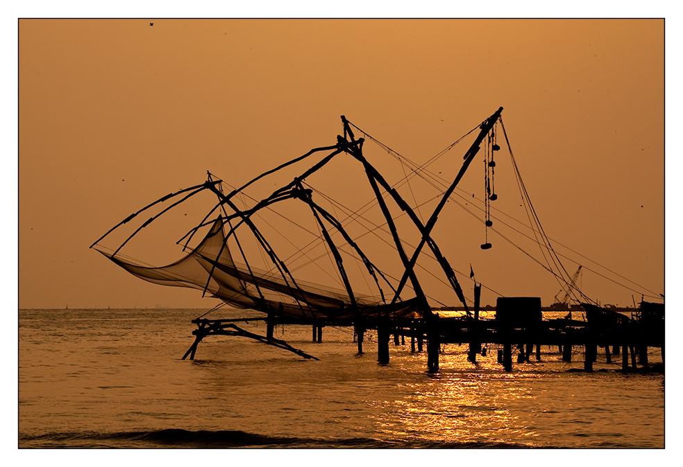 Chinesische Fischnetze/Chinese fisher nets #1