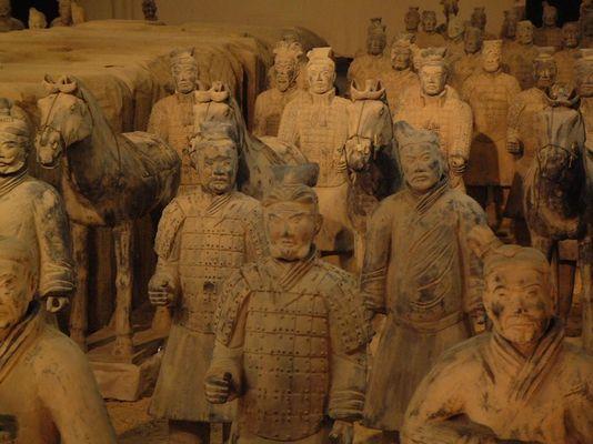 Chinesische Krieger in Berlin