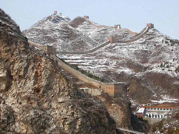 Chinesische Mauer in Simatai