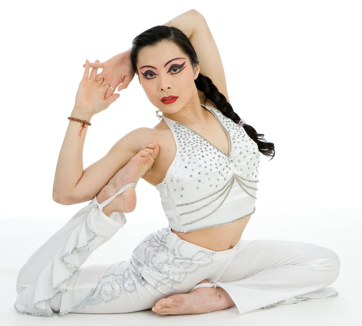Chinesische Tänzerin