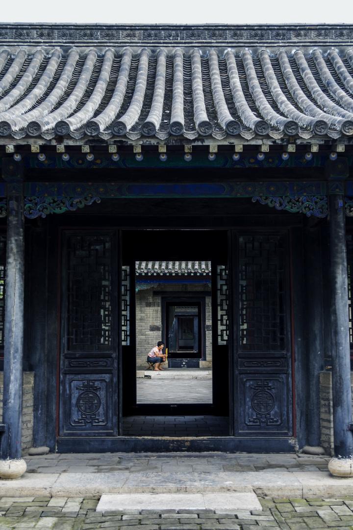 chinesische traditionale Gebaude