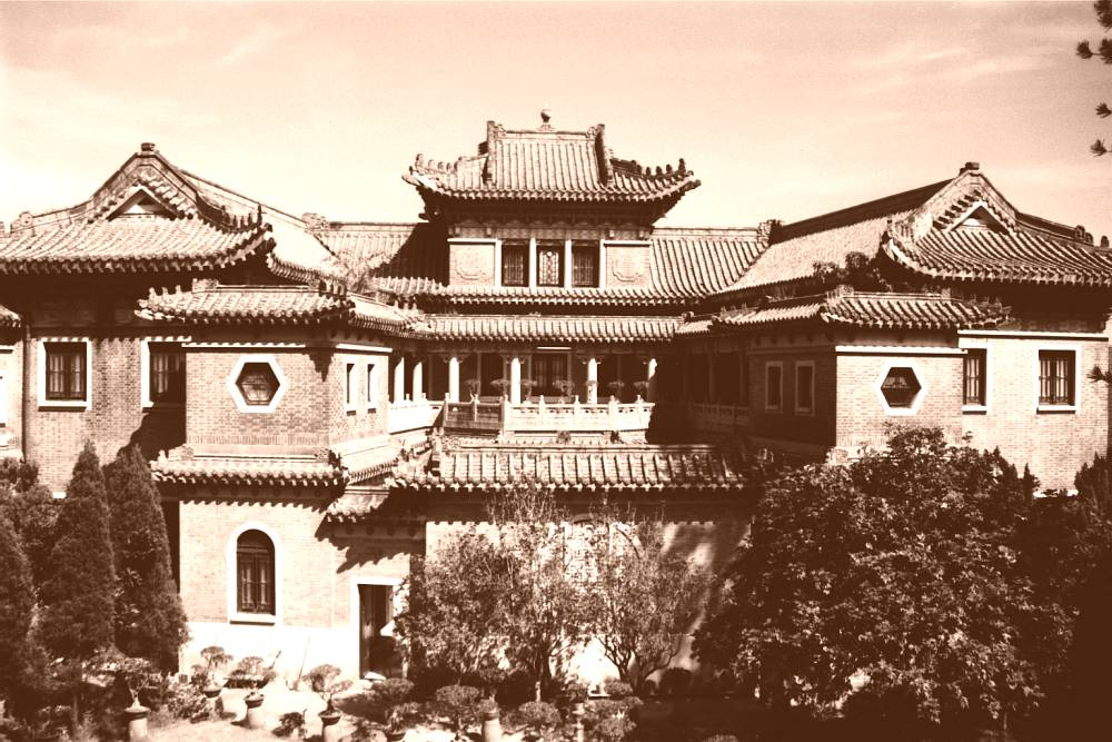 Chinesische Villa