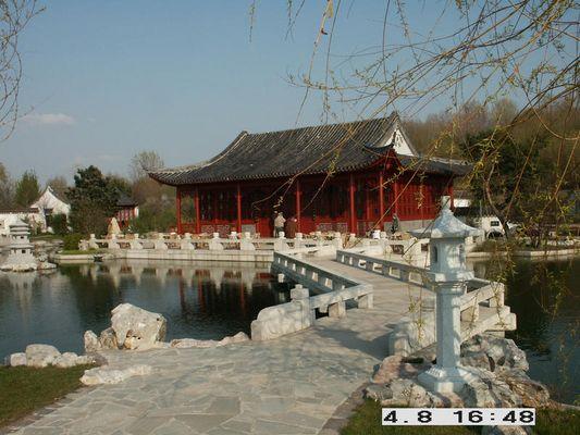 Chinesischer Garten in Berlin...im Vorfrühling