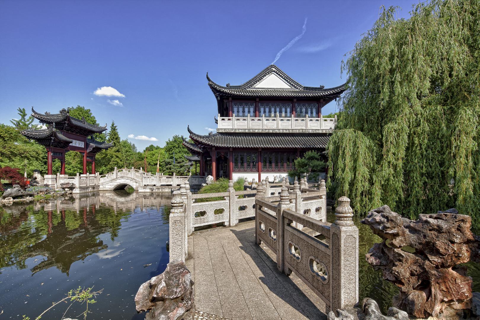 chinesischer garten mit teehaus am see foto bild deutschland europe baden w rttemberg. Black Bedroom Furniture Sets. Home Design Ideas