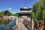 Chinesischer Garten mit Teehaus am See