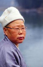 chinesischer Mann in Katon-China