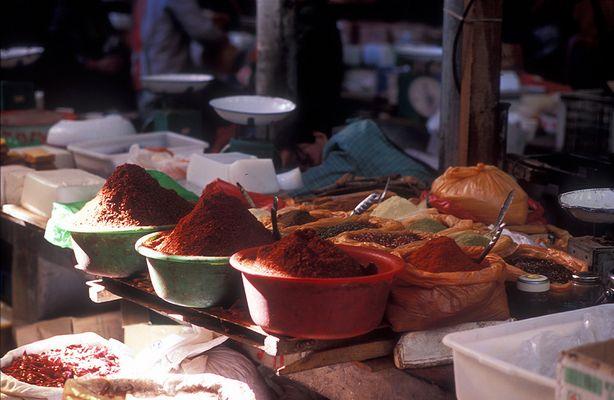 Chinesischer Markt, Lhasa