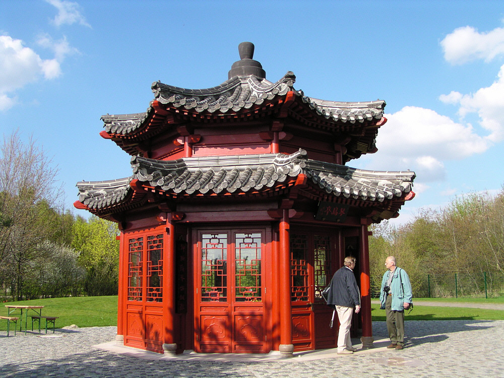 chinesischer pavillon in berlin marzahn foto bild deutschland world bilder auf fotocommunity. Black Bedroom Furniture Sets. Home Design Ideas