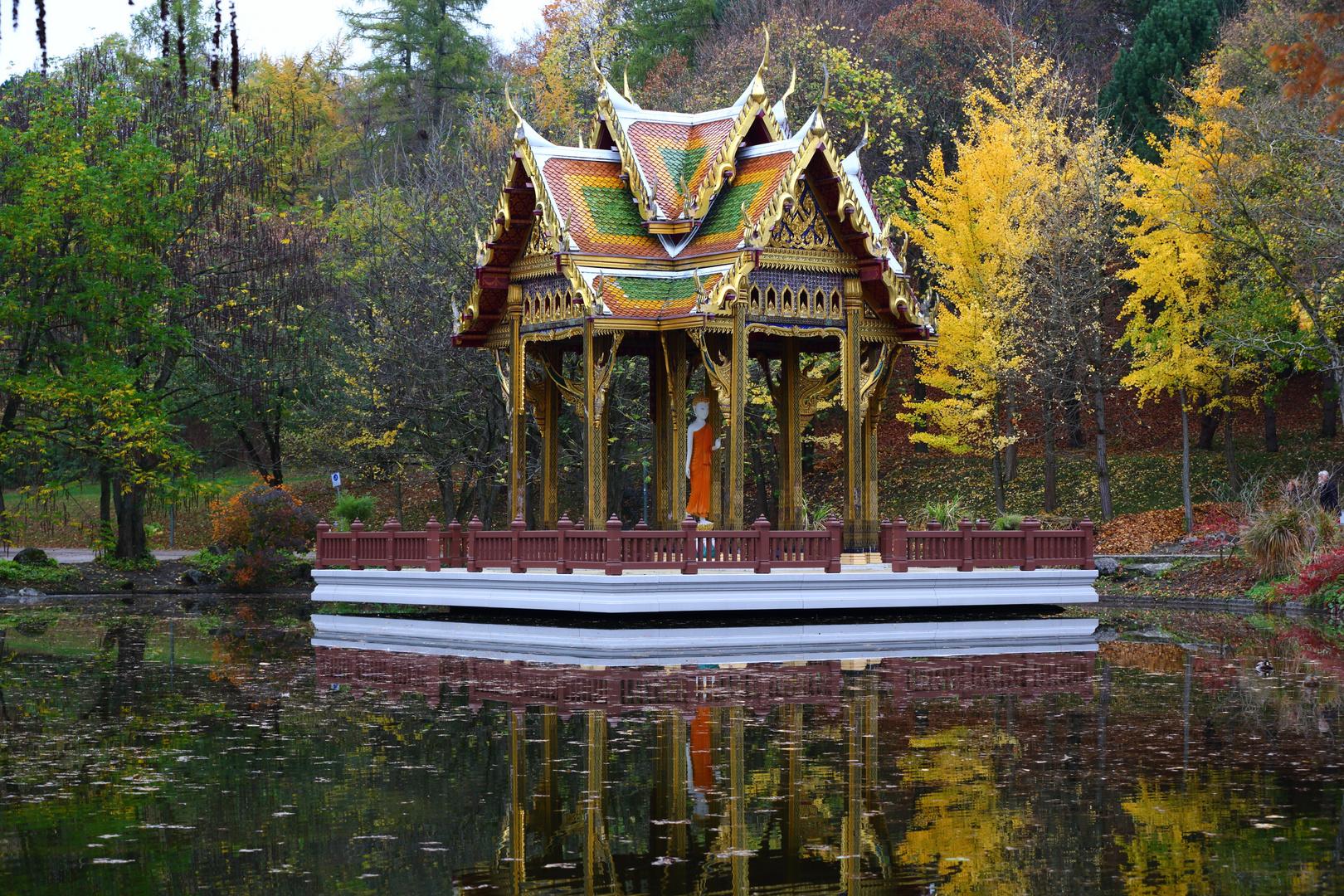 Chinesischer Tempel im Westpark München