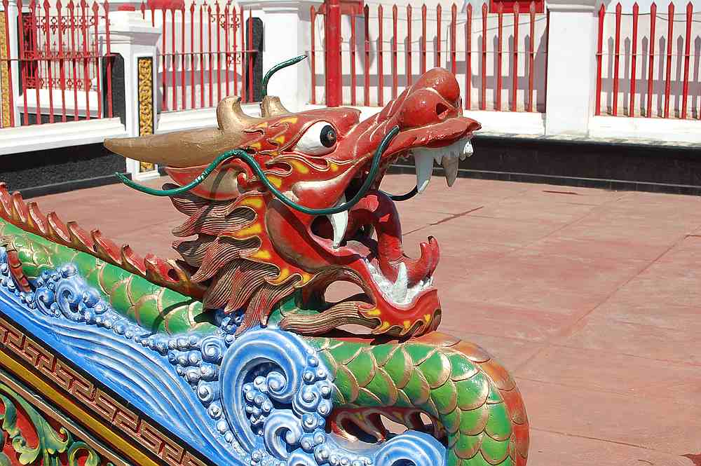 Chinesischer Tempel in Singaraja, Lovina