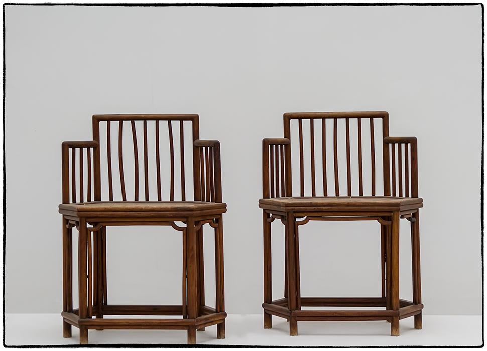 Chinesisches Paar auf der Museumsinsel Hombroich