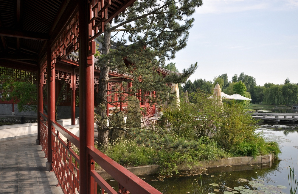 Chinesisches Teehaus....