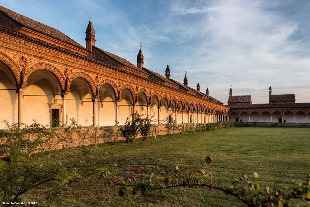 Chiostro della Certosa di Pavia