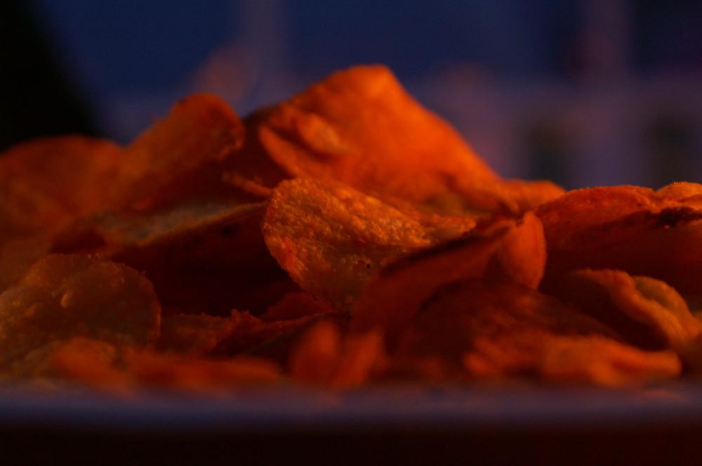 Chips bei Nacht