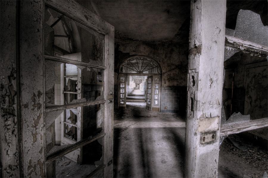 Chirurgieflur Beelitz-Heilstätten