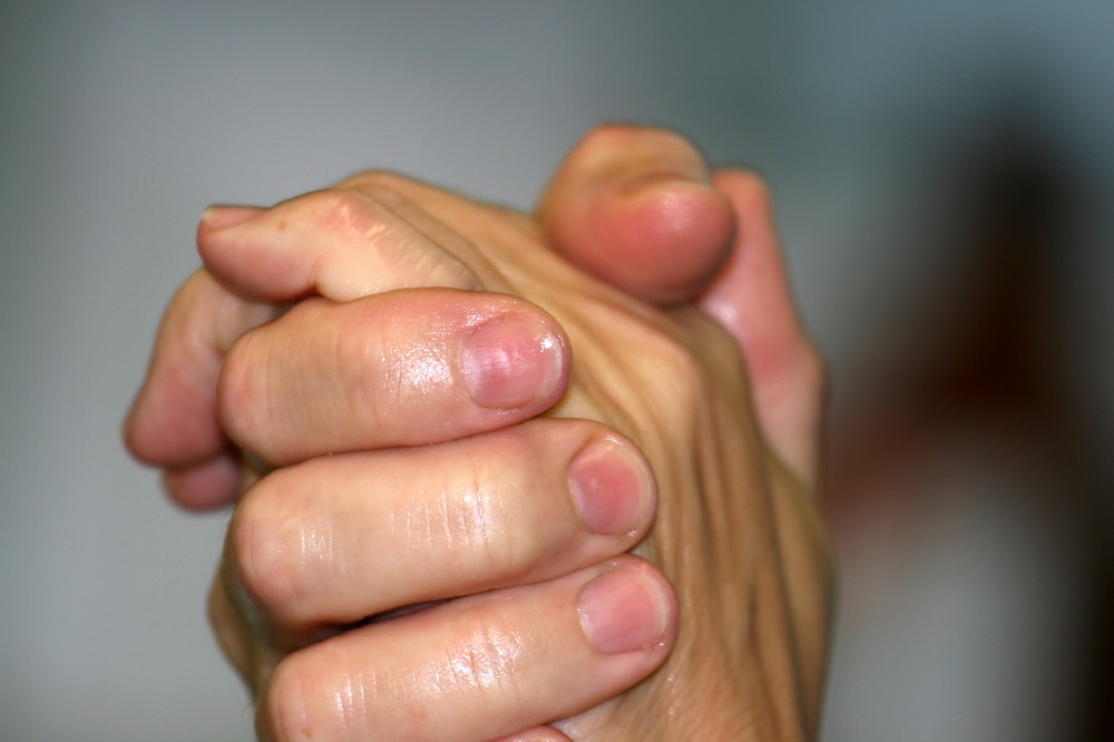 Chirurginnenhände