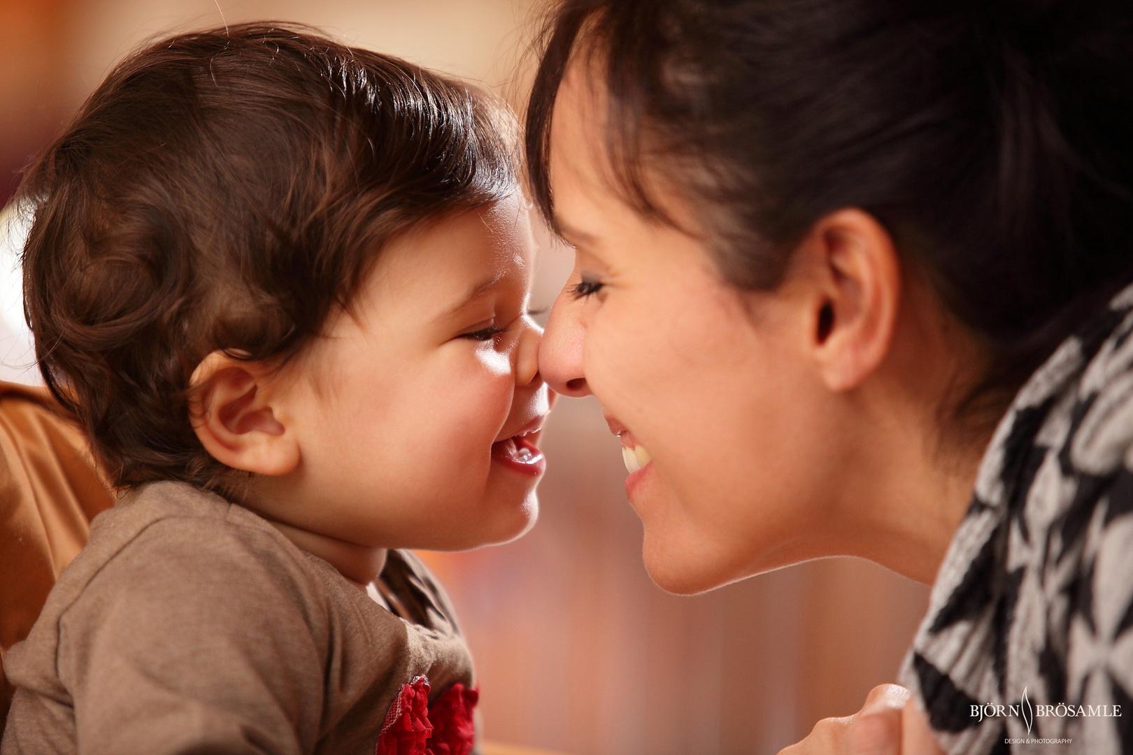 Chloe 11 Monate & Mami