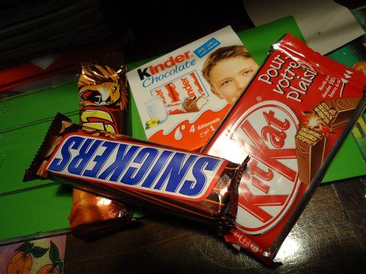 chocolat :p