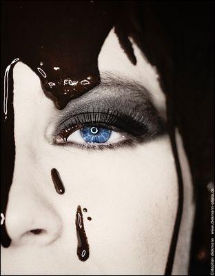 chocolat & yeux bleus