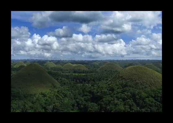 Chocolate Hills auf Bohol - Philippinen