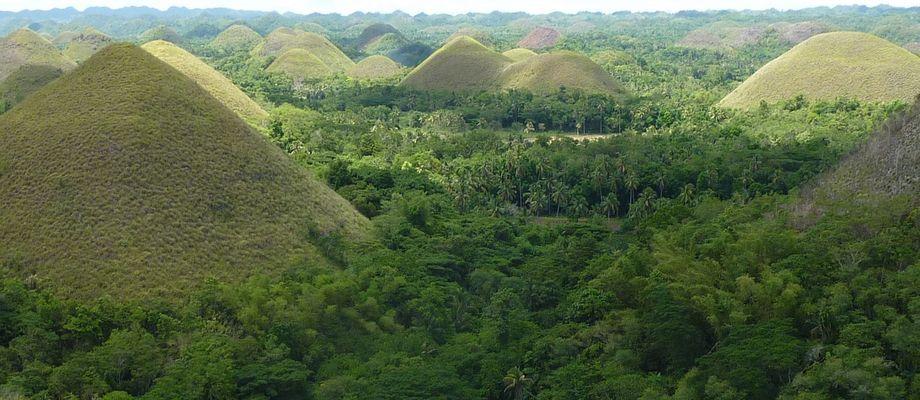 Chocolate Hills, Bohol Island