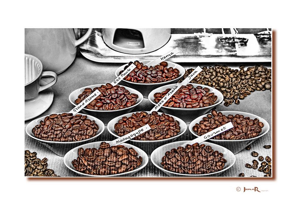 Choix de cafés