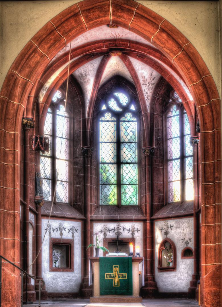 Chor der Hospitalkirche Biedenkopf