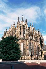 Chorabschluss von Osten, Kölner Dom