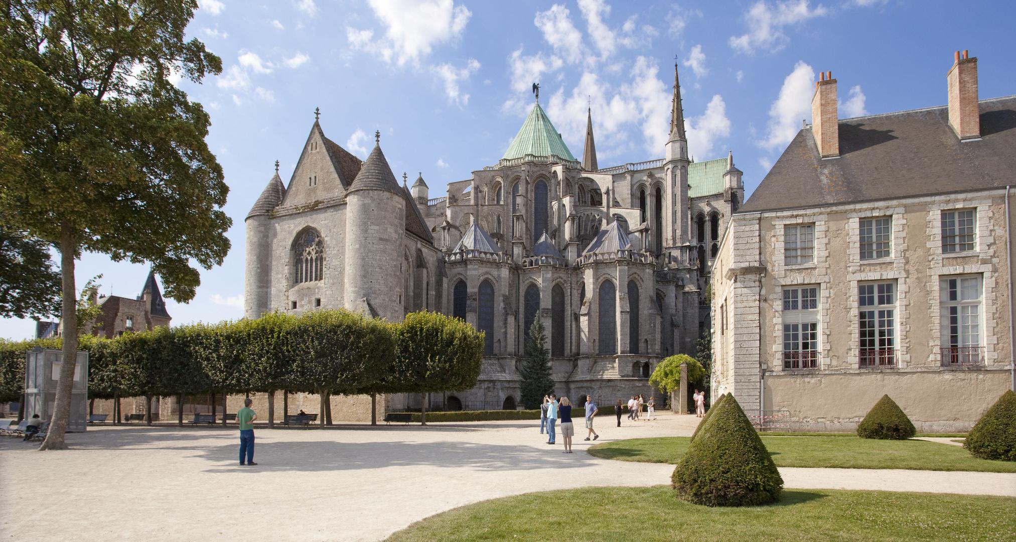 Chorapsis der Kathedrale von Chartres