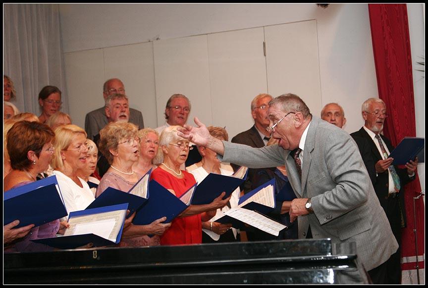 Chorleiter in Aktion