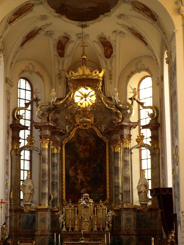 Chorraum der Ettenheimer Kirche