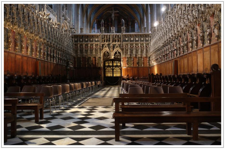 Chorraum der Kathedrale von Albi