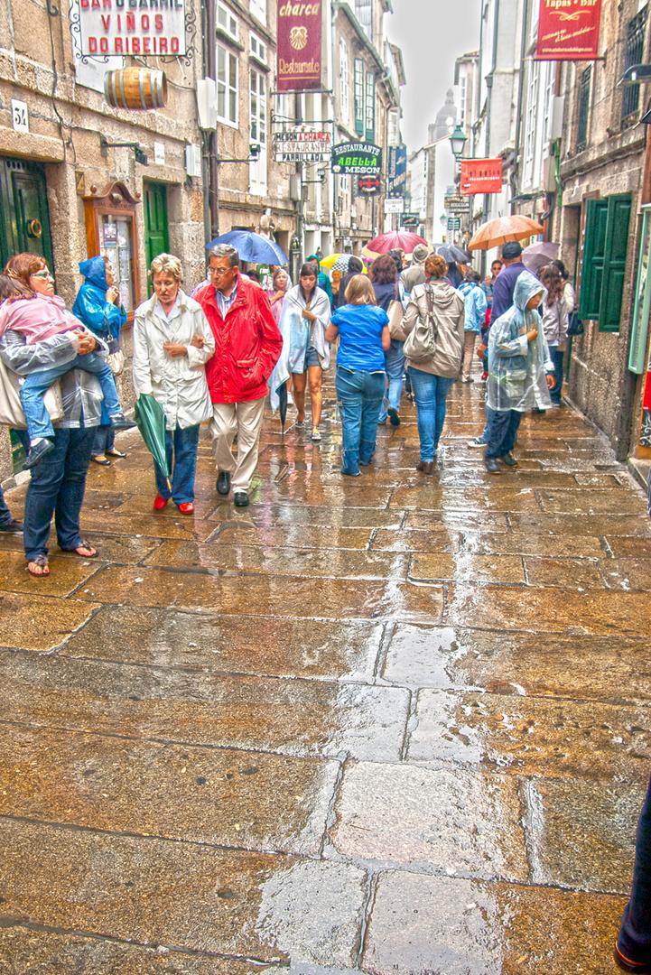 """""""Chove"""" en Santiago"""
