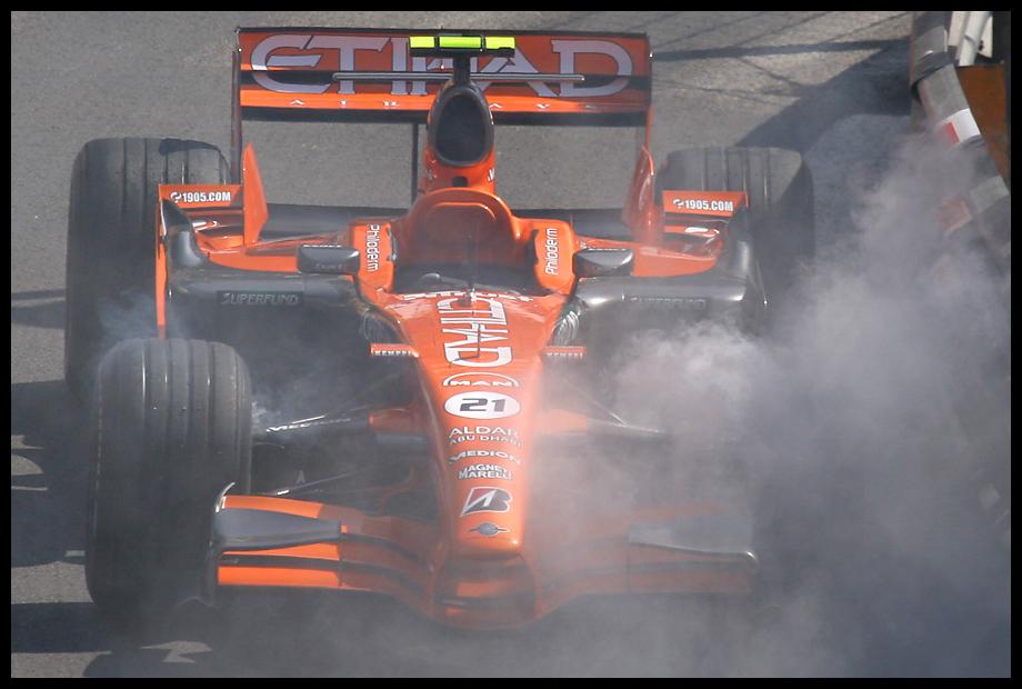 Chr. Albers, Spyker F1, Monaco 2007
