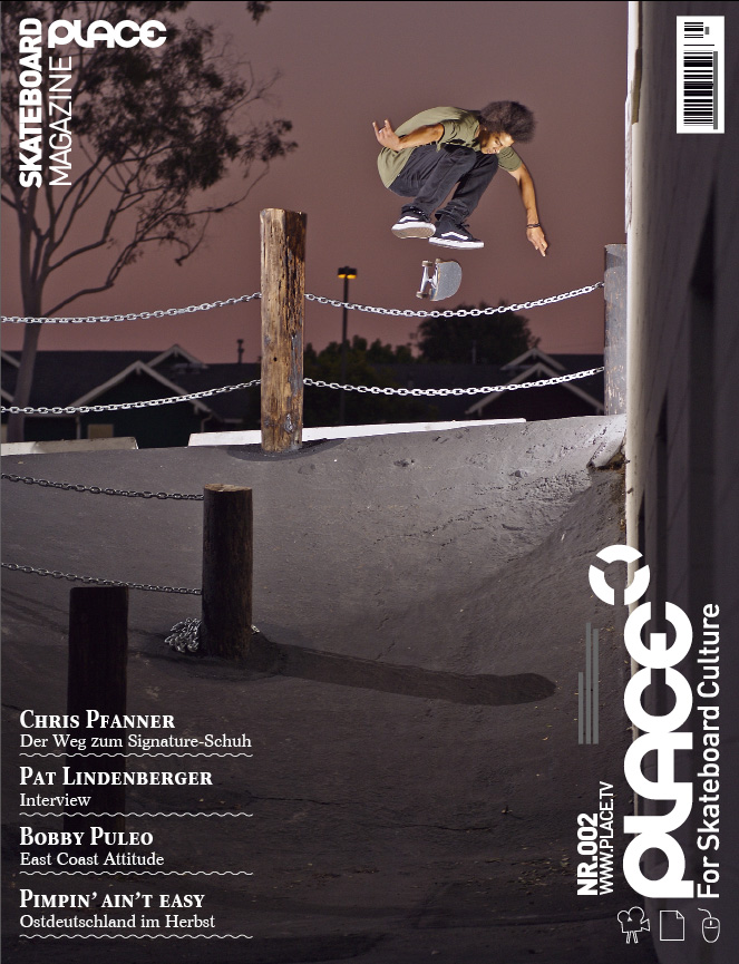 Chris Pfanner - kickflip - Los Angeles