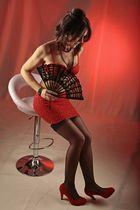 Christa_kess in rot_mein schwarzer Fächer